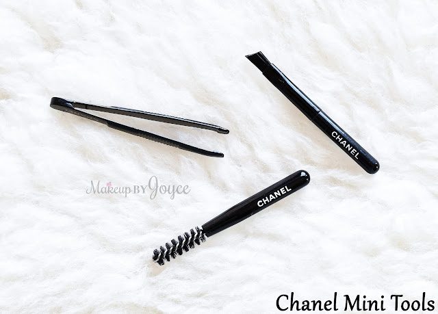 Chanel Mini Travel Tweezer Spoolie Angled Brow Brush Review