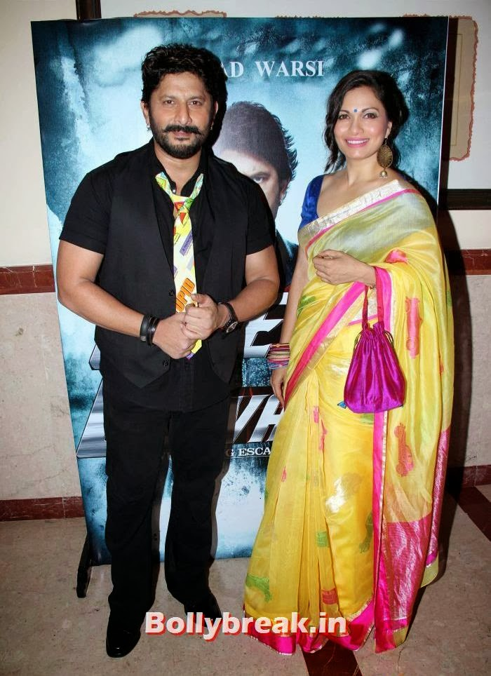Arshad warsi and Maria Goretti, 'Mr Joe B Carvalho' Trailer Launch Photo Gallery, 'Mr Joe B Carvalho' Trailer Launch Stills, 'Mr Joe B Carvalho' Trailer Launch Gallery, 'Mr Joe B Carvalho' Trailer Launch Photos