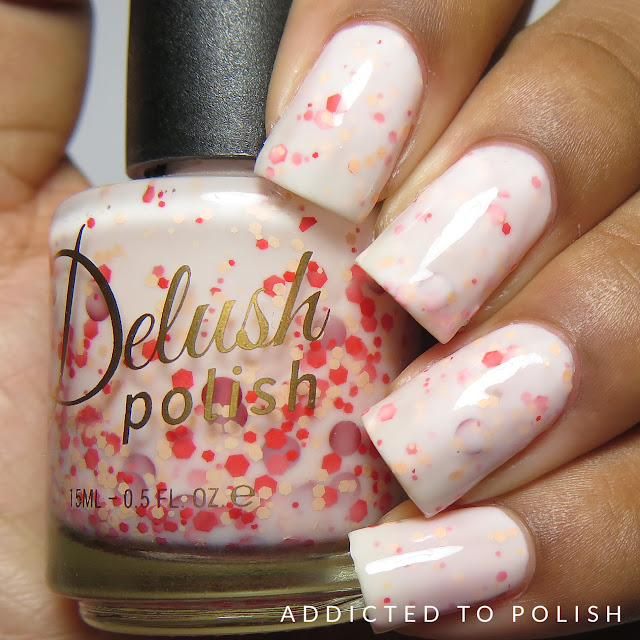 Delush Polish Stir Mix A Lot High and Mightea Spring swatches