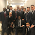 Jay-Jay Okocha and Nwankwo Kanu In group photo with world football legends