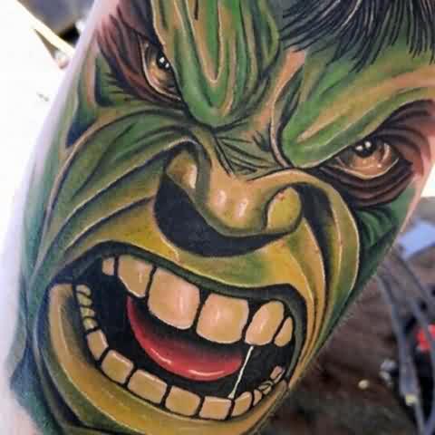 tatuagens do Incrível Hulk