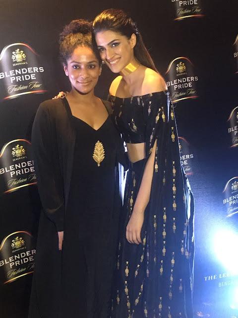 Kriti Sanon with Designer Masaba gupta