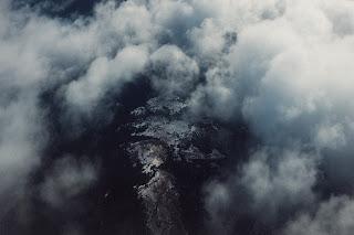 a dark, stormy sky