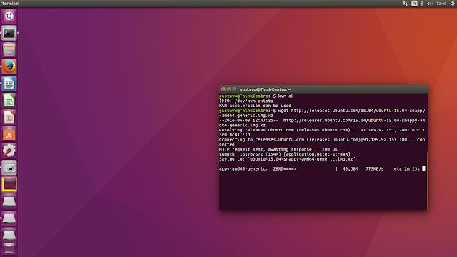 Ubuntu: além do Desktop – Parte 2 – Prática: Ubuntu Core Snappy, como instalar o Ubuntu Core!