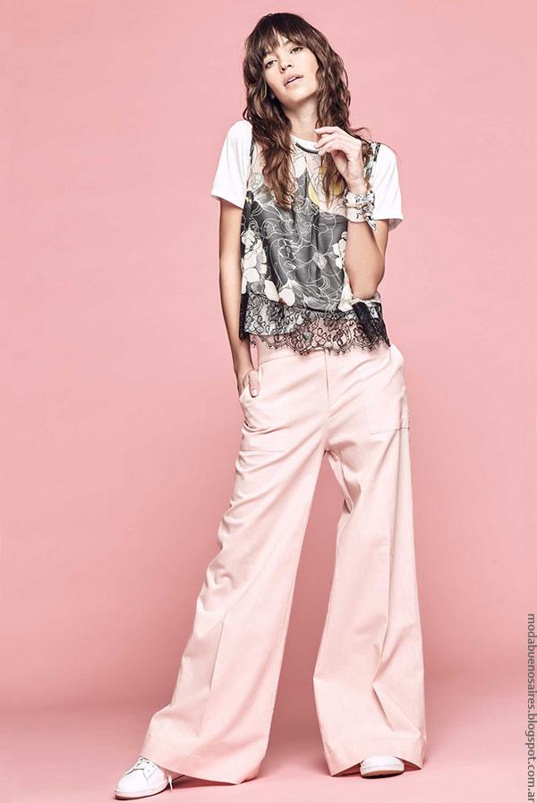 Moda verano 2017 ropa de moda mujer. Moda verano 2017 mujer moda.