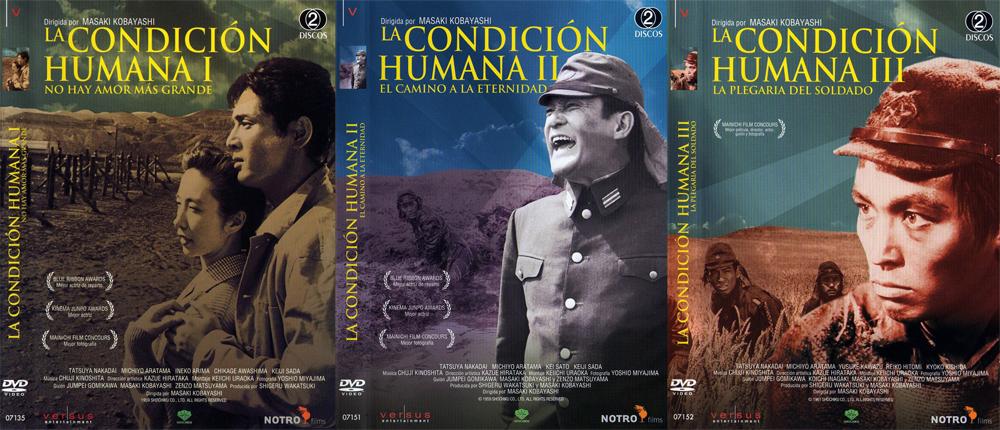 El gran topic de las TRILOGÍAS de cine HLa_Condicion_Humana_I_No_Hay_Amor_Mas_Grande-Caratula-copia