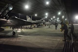 T-50i Golden Eagle TNI AU Latihan Terbang Malam Hari