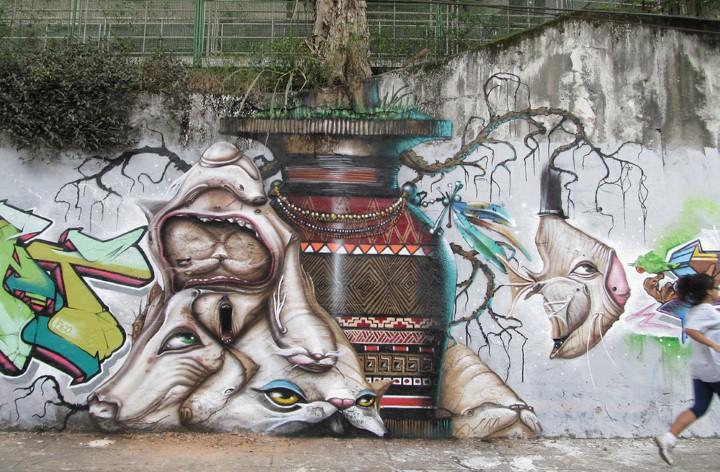 Andre Muniz Gonzaga. Street Art художник 17
