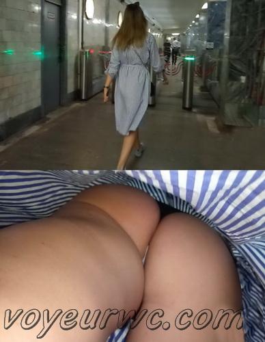 Upskirts N 2633-2652 (Subway station upskirt with amateur girls)