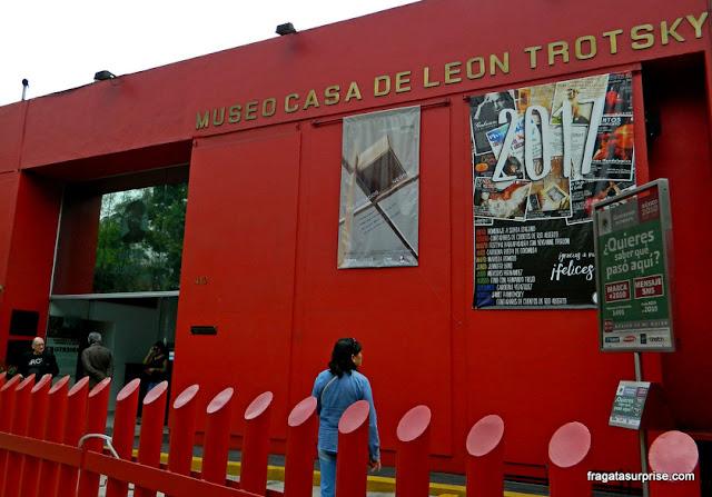 Entrada do Museu Casa de Leon Trotski, Cidade do México