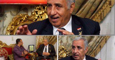 لقاء مع أحد أعلام ميت غمر اللواء نبيل أبو النجا مؤسس وحدة الصاعقة الـ999