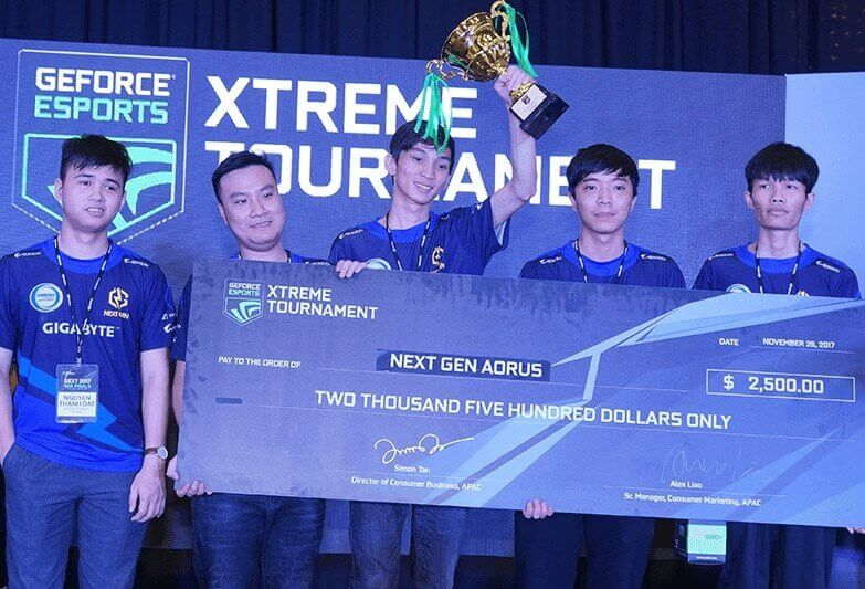 Team Next Gen Aorus of Vietnam