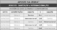 LOTECA 703 - HISTÓRICO JOGO 03