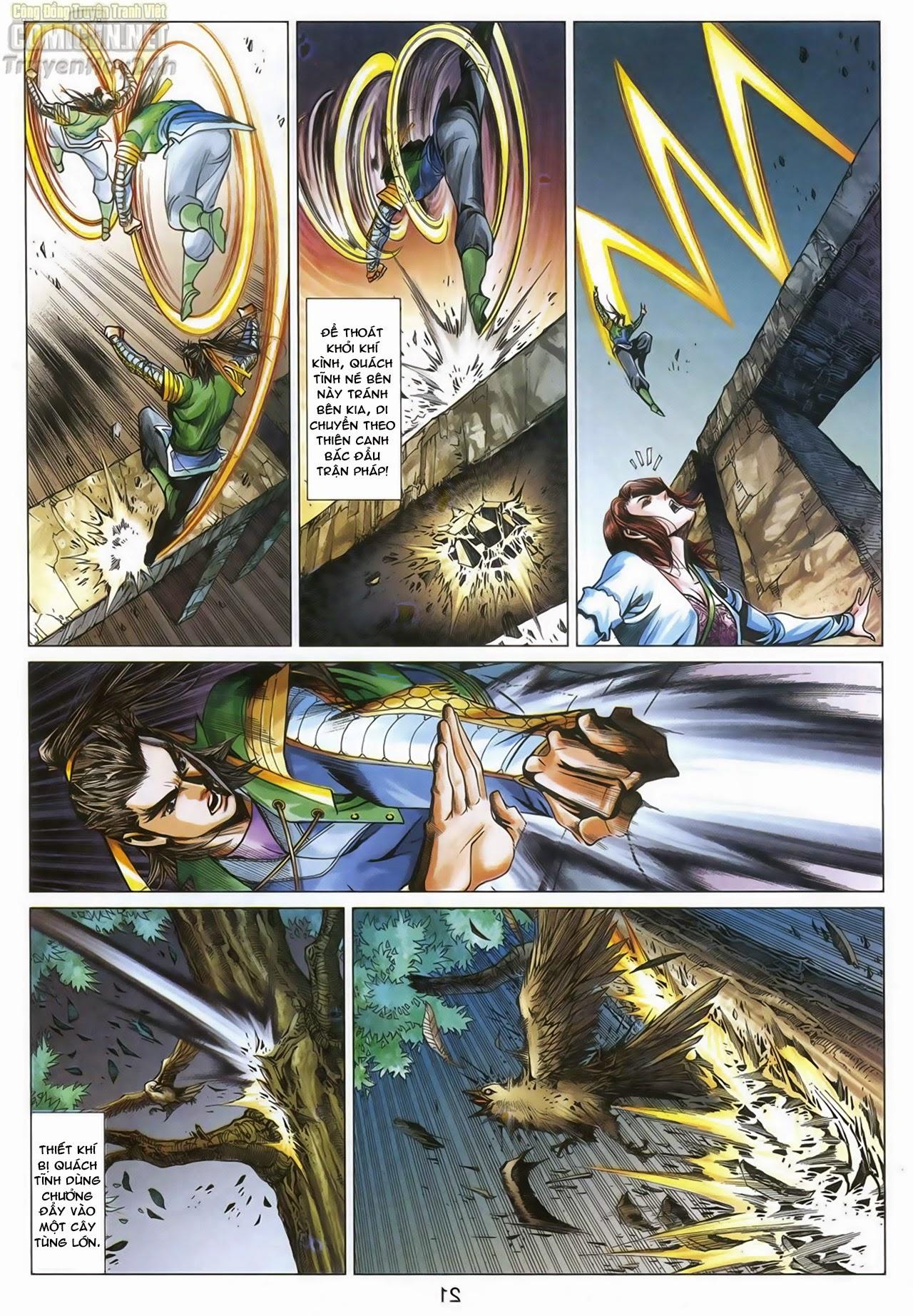 Anh Hùng Xạ Điêu anh hùng xạ đêu chap 67: quyết chiến hiên viên đài trang 20