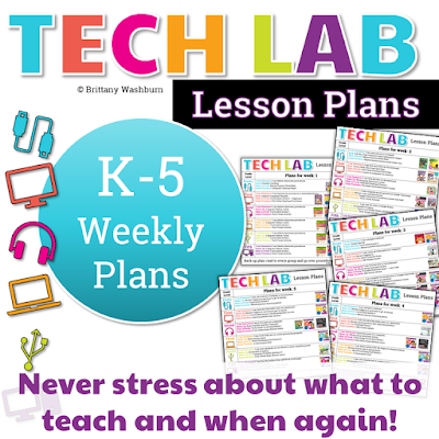 My goal with this is to free you up to take care of the other important things in your tech teacher life. Don't let your lesson plans stress you out!