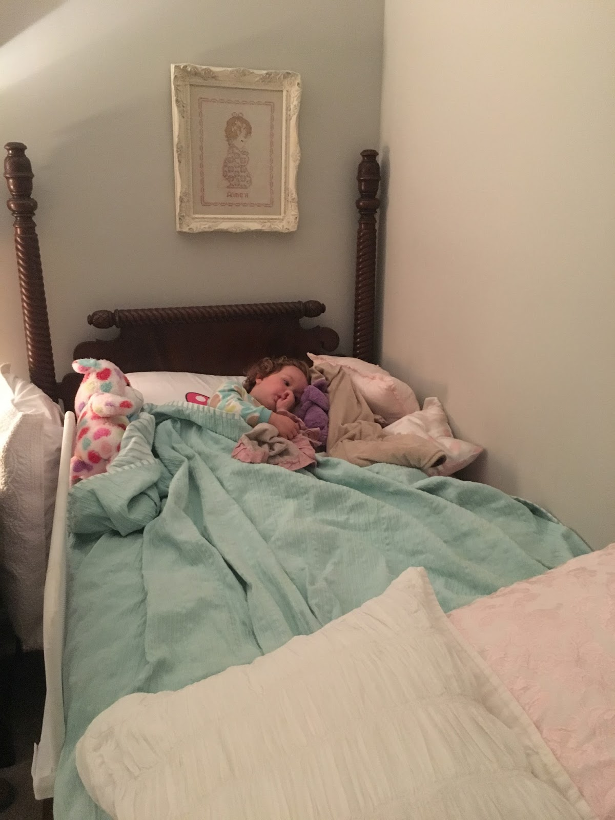 Ryan Leighton Mae Maggie Big Girl Bed X2