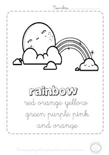 aprender colores en ingles para niños