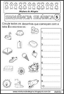 Sequência silábica, autoditados S