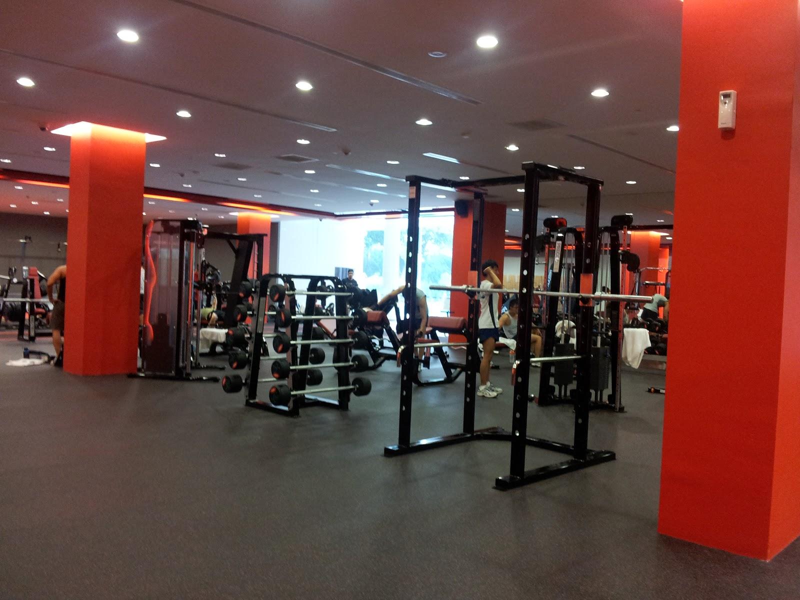 Yishun safra gym membership zen