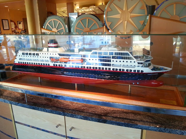 Hurtigruten MS Trollfjord - Builder's Model