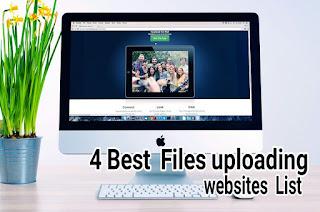 Internet  Free File sharing  ( upload )  websites