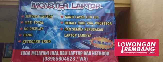 lowongan laptop rembang
