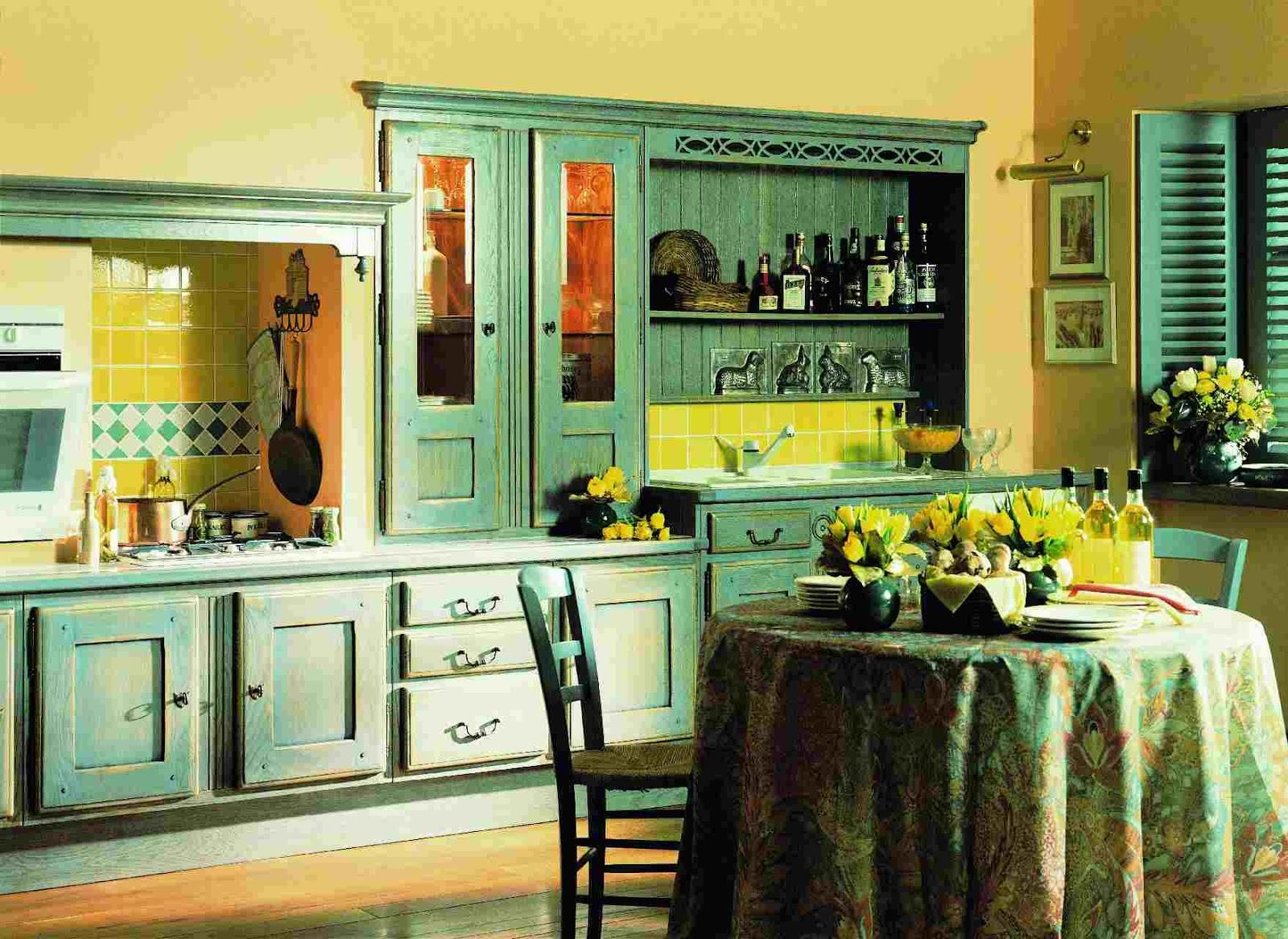 15 fotos de cocinas verdes colores en casa for Interiores de cocinas