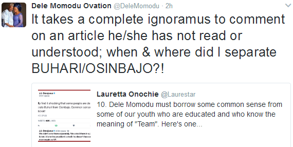 Dele Momodu claps back at Laurette