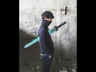pedang goblin png