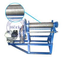 Mesin mangel press karet batik/motif dengan motor
