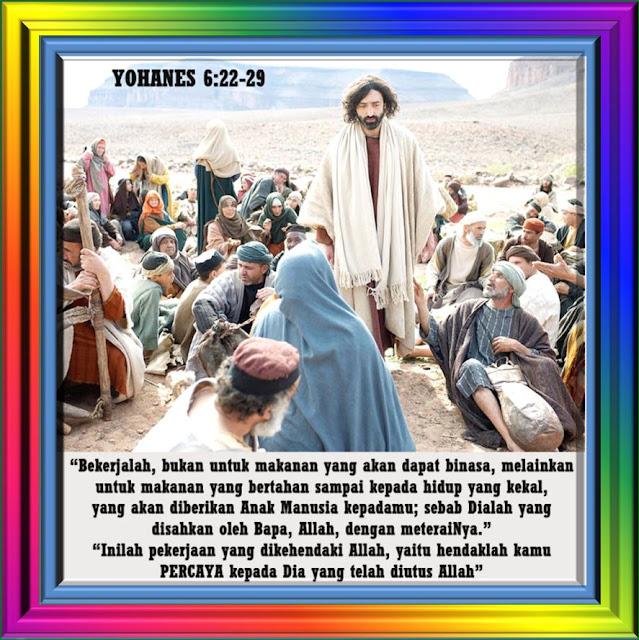 YOHANES 6:22-29