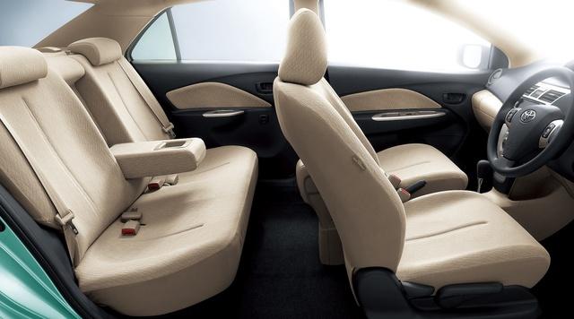 Toyota Belta Interior Car Models