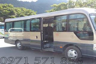 dịch vụ cho thuê xe 29 chỗ tại Thanh Xuân