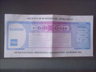Counterfeit Visa Travelers Checks