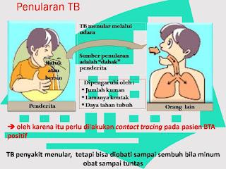 Sumber penularan TB