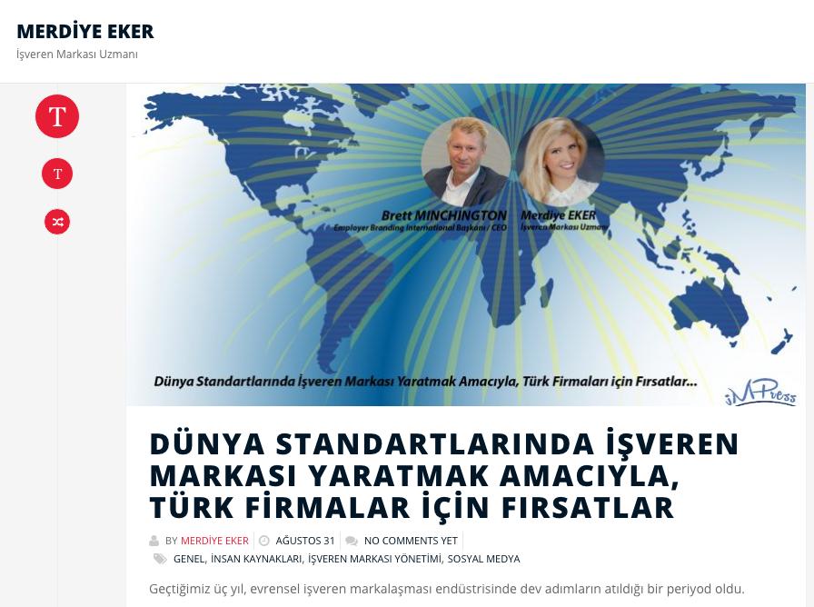 Turk Firmalar Dunya Standartlarinda Isveren Markasini Nasil Yaratabilir?