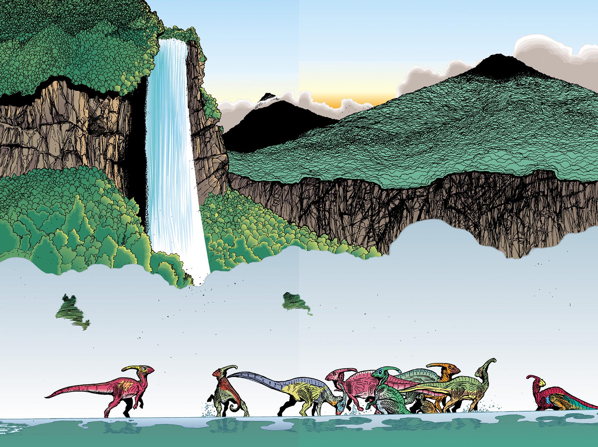 Age of Reptiles Omnibus Chap 2 - Next Chap 3