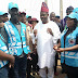 FRSC CELEBRITY MARSHAL LED BY CO-ORDINATOR CHRIS KEHINDE NWANDU STORMS ABEOKUTA IN OGUN STATE ON ENLIGHTMENT