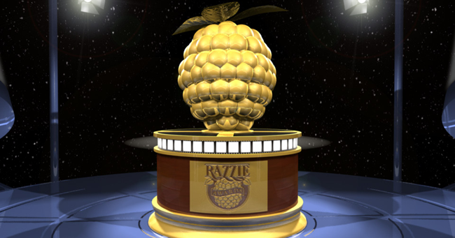 Movie 43 is the worst movie of the year at the 2014 Razzie Awards
