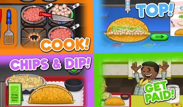 Papa's Taco Mia HD Apk
