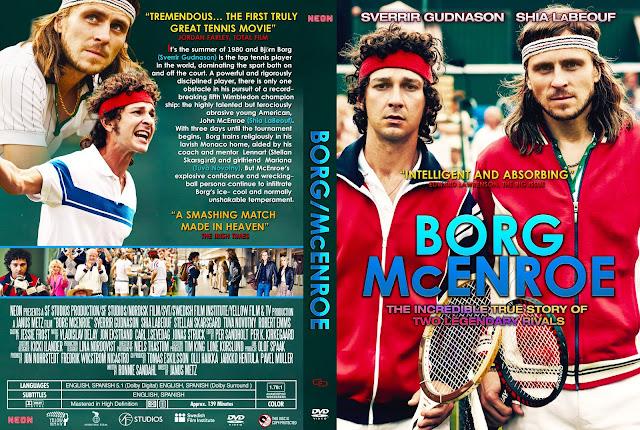 Borg McEnroe DVD Cover