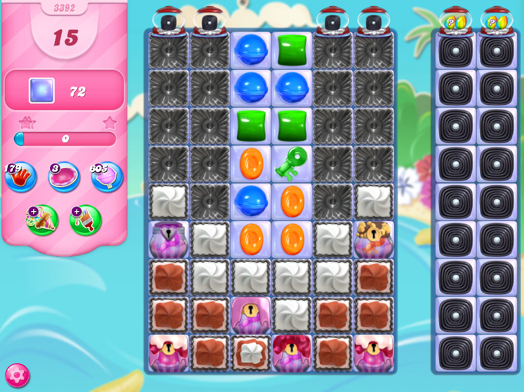 Candy Crush Saga level 3392