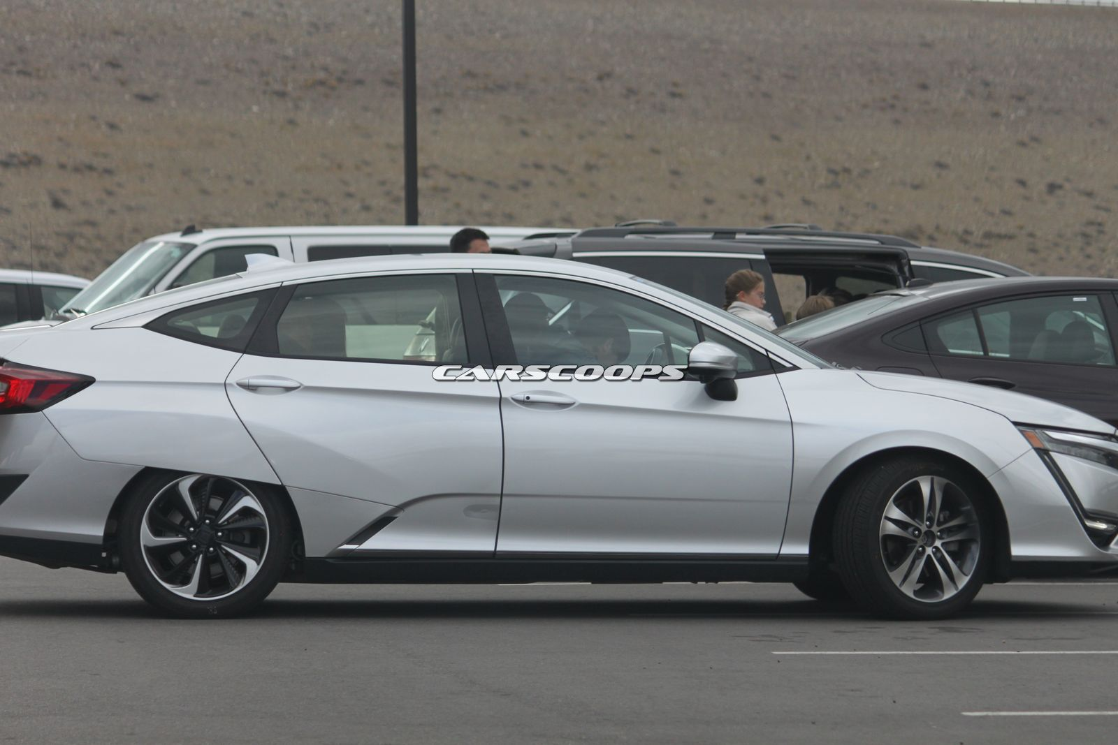 Honda s New Clarity Pops Up In Silver In Colorado Carscoops