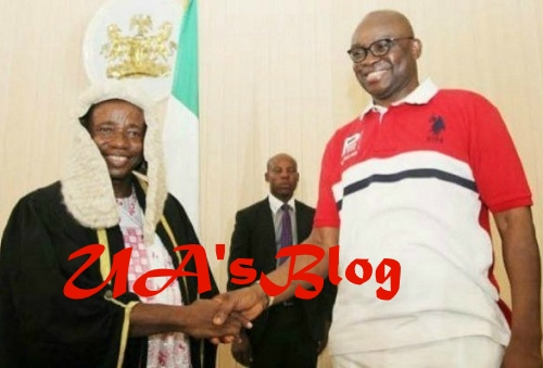 BREAKING News: Confusion As Ekiti Assembly Impeaches Speaker, Principal Officers