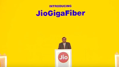 Reliance launches Jio GigaFiber Broadband Services, Giga Router,GigaTV Set Top Box & Jio Smart Home Solutions