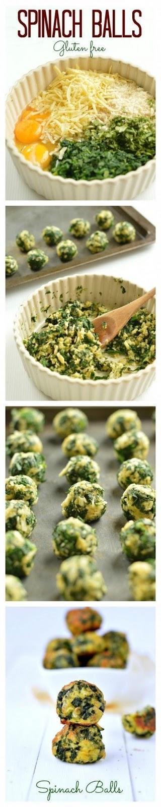 Keto Spinach balls