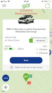 aplikacja print screen innogy bmw