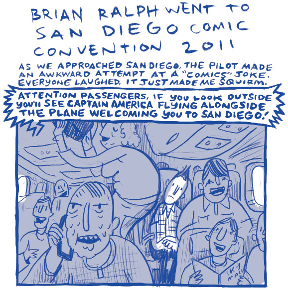 Journal Comic: Brian Ralph