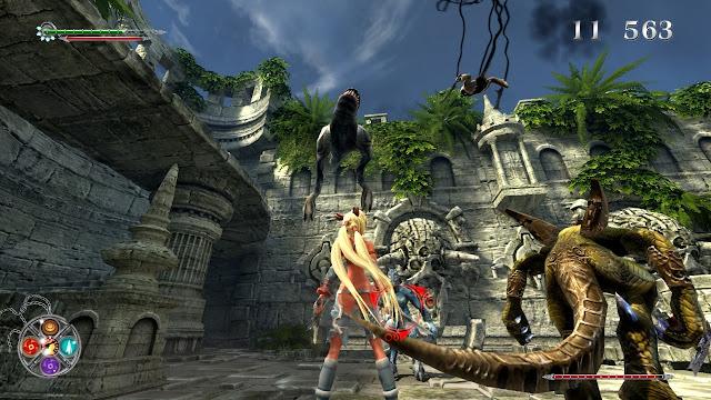 X-Blades PC Full Version Free Download Gameplay