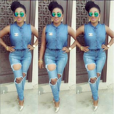 Nollywood Actress Mide Funmi Martins Allegedly Slept With Her Husband's Best Friend